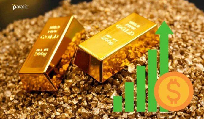 Ons Altın 1732 Dolara Toparlanırken, Gram Türü Sakin Seyrediyor