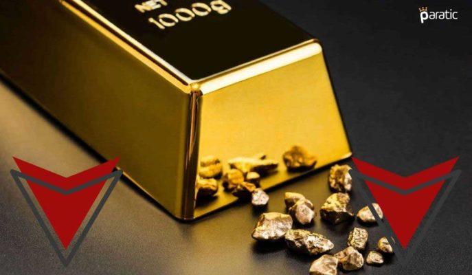 Ons Altın ABD 10 Yıllık Tahvillerinin Yükselişe Geçmesiyle Kayba Yöneldi