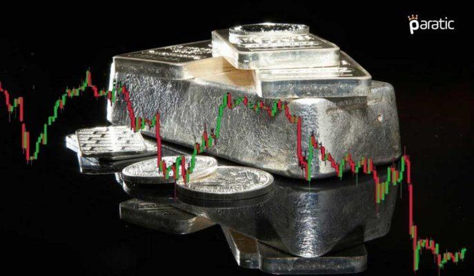Bir Kez Daha ABD Tahvilleri Baskısında Kalan Gümüş 25 Dolara Geriledi