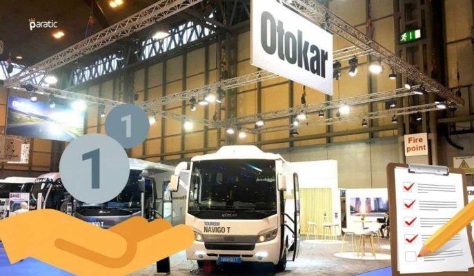 Otokar Otomotiv Ortakları için 400 Milyon TL Kar Payı Dağıtıyor