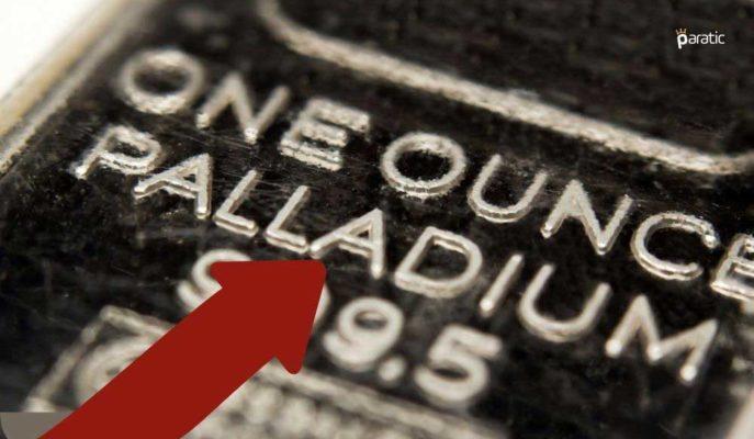 Değerli Metallerden Pozitif Ayrışan Paladyum %2,5 Artıda İşlem Görüyor