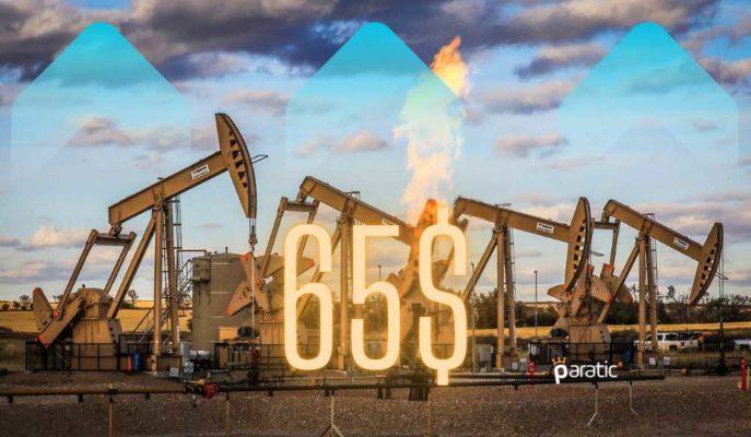 Petrol Fiyatı 1 Yıldan Uzun Süre Sonra İlk Kez 65 Doların Üstünü Gördü