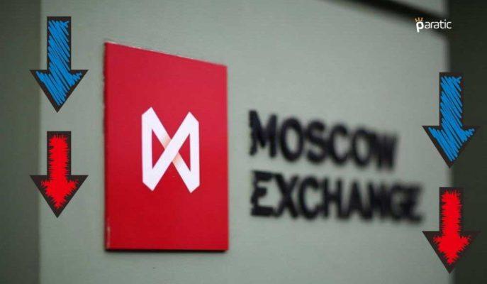 Rusya Piyasaları 25 Baz Puanlık Faiz Artışı Sonrası Negatif Seyrediyor