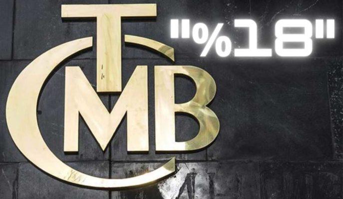 TCMB'nin Faiz Oranını %18'e Yükselteceği Tahmin Edildi