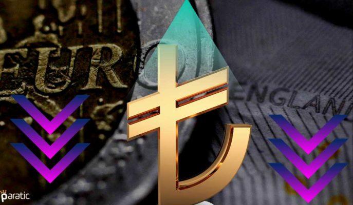 TCMB'nin Güçlendirdiği TL Sonrası Euro ve Sterlin Sert Düştü