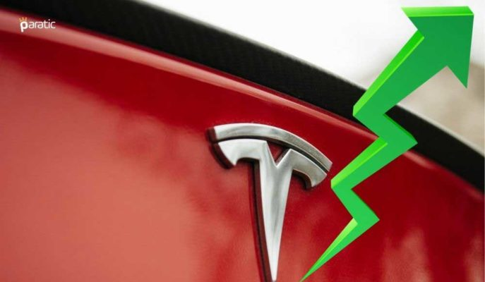 Tesla Hisseleri Haftanın İlk İşlem Günü %6'ya Yakın Yükseldi
