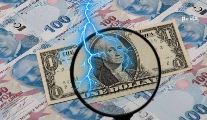 Türk Lirası Dolar Karşısında %1'den Fazla Yükseldi