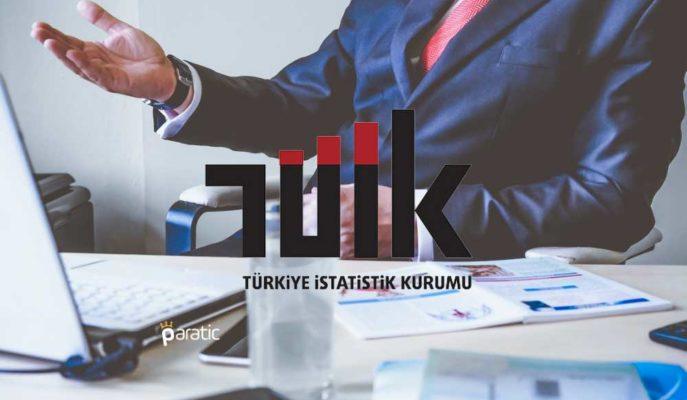 Türkiye'de Ücretli Çalışan Sayısı Yıllık Bazda %5,1 Arttı