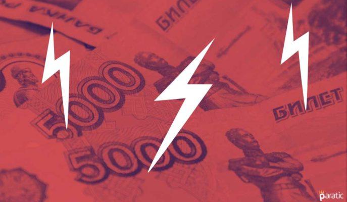 USD/RUB Paritesi Azalan Risk İştahıyla 75 Rubleye Yaklaşıyor