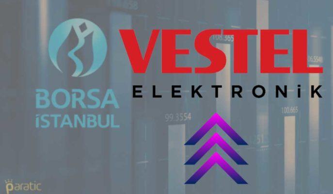 Vestel Hisseleri Kayıtlı Sermaye Tavanı Artırımı Sonrası Zirve Yaptı
