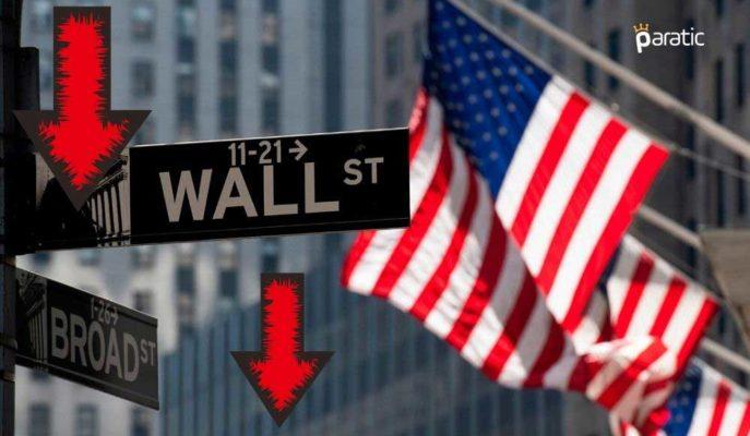 Wall Street Ana Endeksleri Pozitif Verilere Rağmen Düşüyor