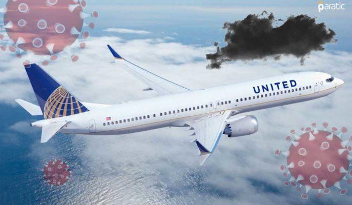 1Ç21'de Beklenti Üstü Kaybeden United Airlines Hisseleri Sert Düştü