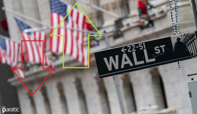 ABD Piyasaları Pozitif Bölgeye Geçti! 2 Günlük Kayıplardan Toparlanıyor