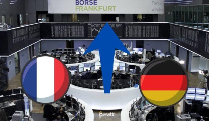 Almanya ve Fransa Borsaları Ekonomik Verilerin Ardından Pozitif