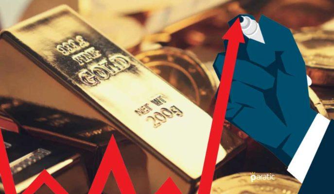 Altın 3 Haftanın Düşük Seviyelerinden Toparlanmasını Sürdürüyor