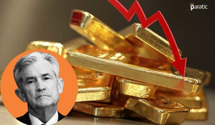 Altın, Powell'ın ABD Ekonomisine Dair Pozitif Beklentileriyle Düştü