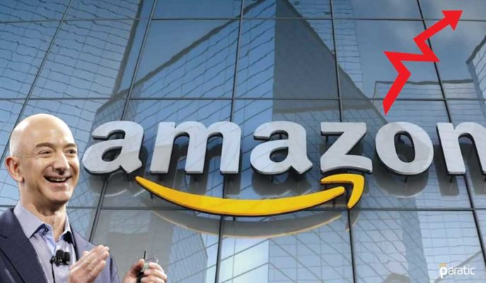 Amazon Hisseleri Kapanış Sonrası Yükselişle Yeni Rekora İlerliyor
