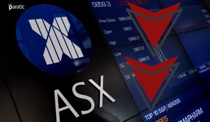 Avustralya Piyasaları 5 Yılın En İyi PMI Verilerine Rağmen Düşüş Gösterdi