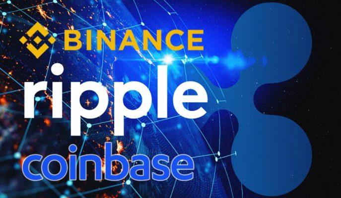 Binance ve Coinbase Borsaları Arasında 230 Milyon Dolara Yakın XRP Transfer Edildi