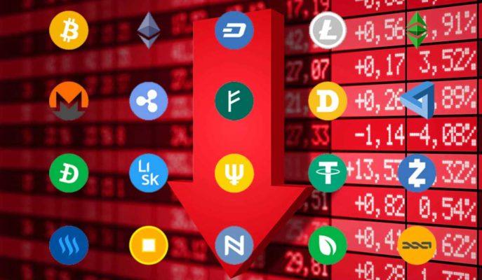 Bitcoin Düşüşünü 48 Bin Dolara Sürdürürken Altcoinler Çakıldı