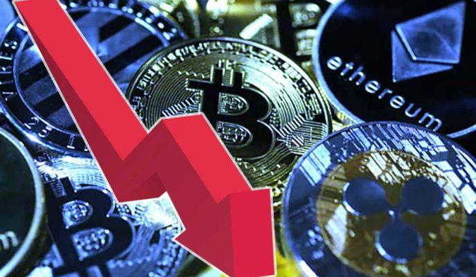 Bitcoin 54 Bin Dolar Altı Düşüşünü Sürdürürken Altcoinler Değer Kaybediyor