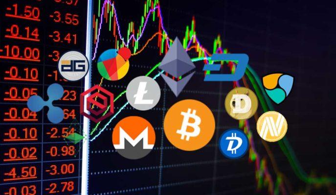 Bitcoin 55 Bin Dolara Kadar Düşerken Altcoinler Çakıldı