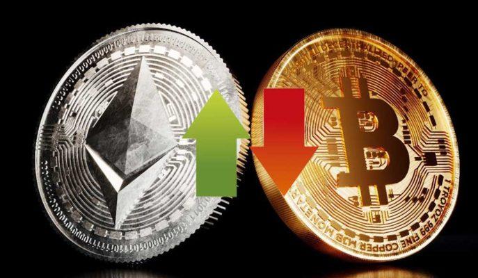 Bitcoin 55 Bin Dolar Direncinden Geri Dönerken Ethereum Yükselişini Sürdürüyor