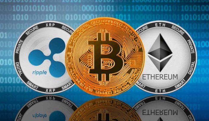Bitcoin ve Ethereum Olumlu İşaretler Gösterirken XRP 1 Dolara Geri Döndü