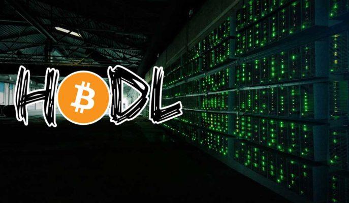 Bitcoin Madencileri Artış Beklentisiyle Birikimlerini Tutuyor