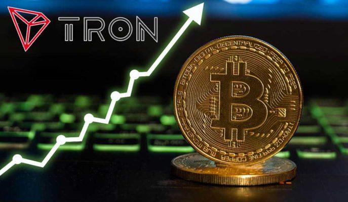 Bitcoin Yükseliş Trendini Takip Ederken Tron (TRX) Yüzde 30 Değerlendi