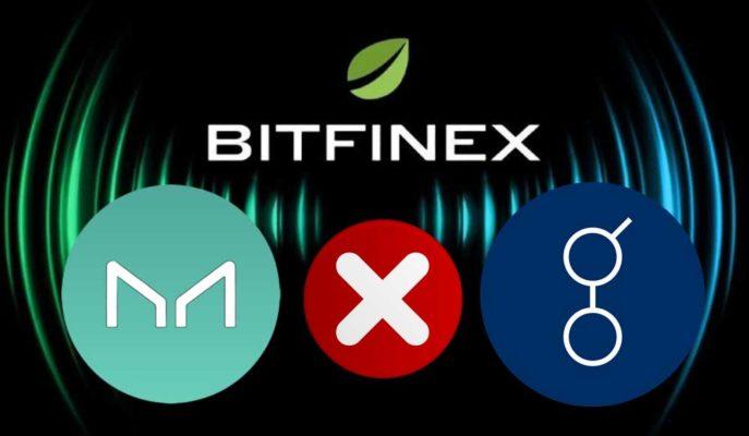 Bitfinex, MakerDAO ve Golem Çiftlerini Kaldırıyor