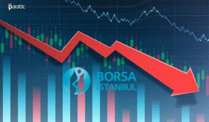 Borsa Yatay Açılışın Ardından Yön Değiştirerek Eksiye Geçti