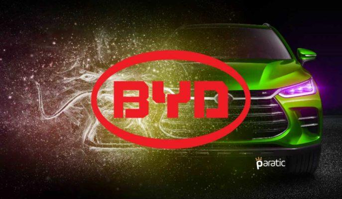 Buffett Destekli BYD, İlk Çeyrekte Rakiplerinden Fazla Elektrikli Otomobil Sattı
