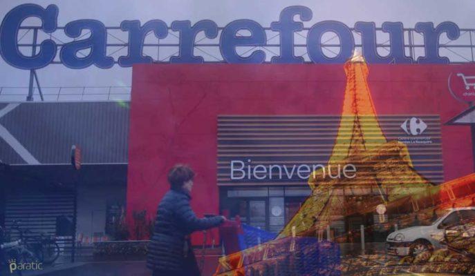 Carrefour Hisseleri Güçlü 1Ç21 Raporuyla Fransız CAC 40'ın Yıldızı Oldu