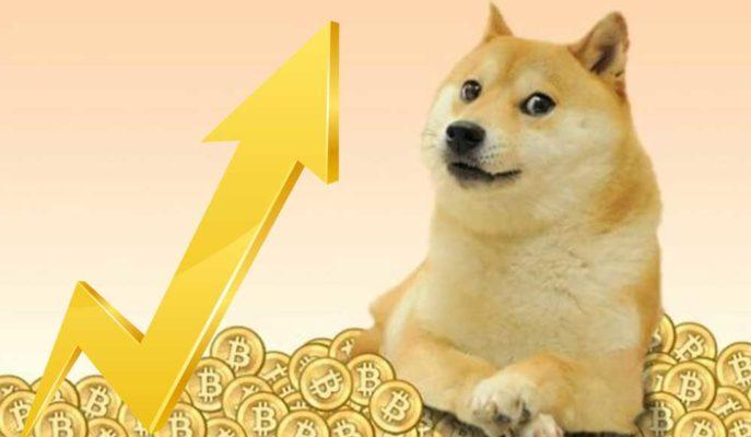 Dogecoin Sert Yükselişi ile ile En Değerli 8. Kripto Para Birimi Oldu