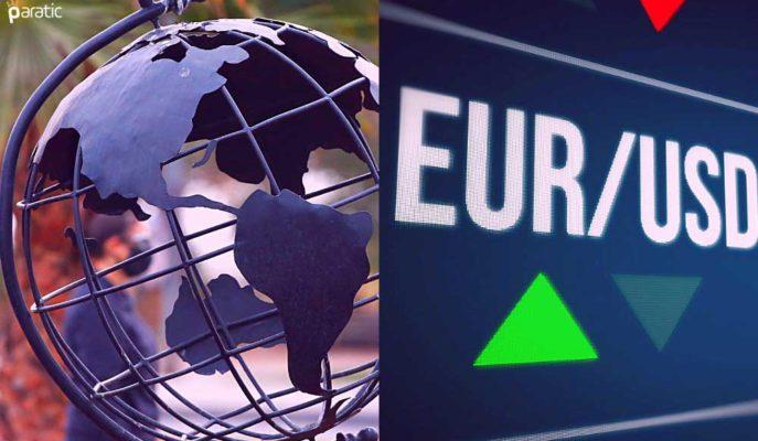 EUR/USD Ekonomik İyileşme Desteğiyle 3 Haftanın Yükseğini Gördü