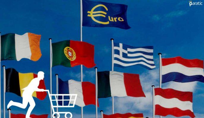 Euro Bölgesi'nde Tüketici Güveni Nisan'da -8,1 Puana Yükseldi