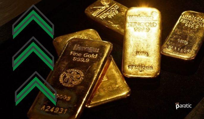 FED Sonrası Yükselen Ons Altın Bu Haftanın En Yükseğine Çıktı