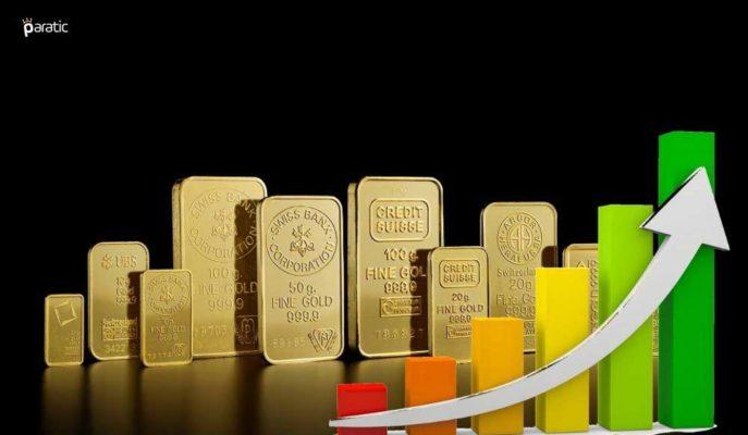 Gram Altın 461 Lirayla Yaklaşık Bir Ayın En Yükseğinde Seyrediyor