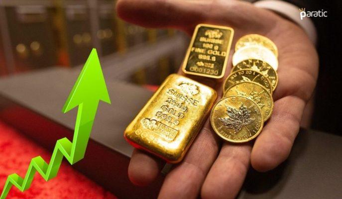 Gram Altın Dolar Kurundan Aldığı Destekle 455 Liraya Dayandı