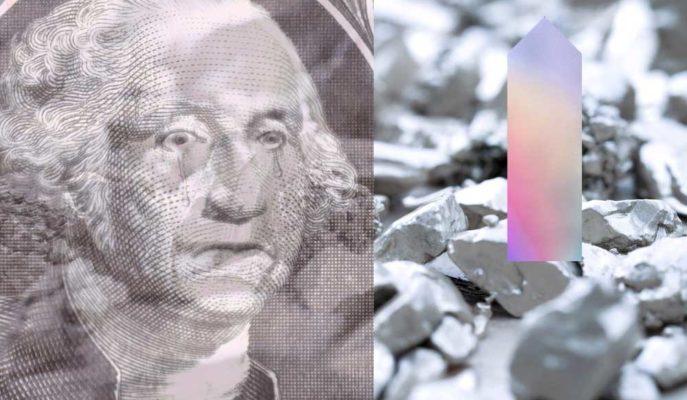 Gümüş Zayıflayan Dolar ve Tahvil Getirileriyle 2 Haftanın Yükseğini Gördü