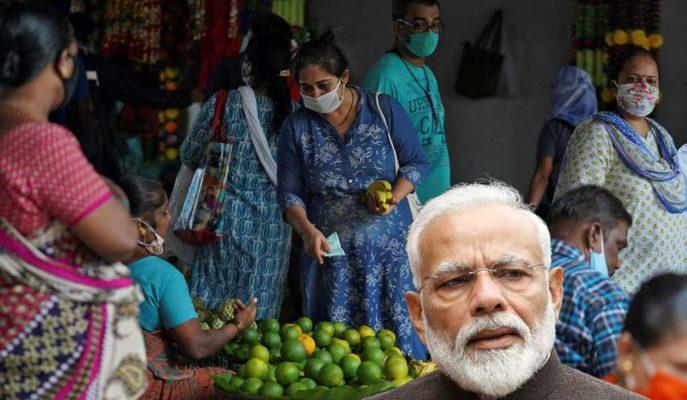 Hindistan'da Enflasyon Mart'ta 4 Ayın Yükseğine Ulaştı