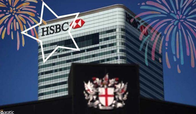 İlk Çeyrek Kârı %79 Artan HSBC Hisseleri FTSE 100'ün Yıldızı Oldu