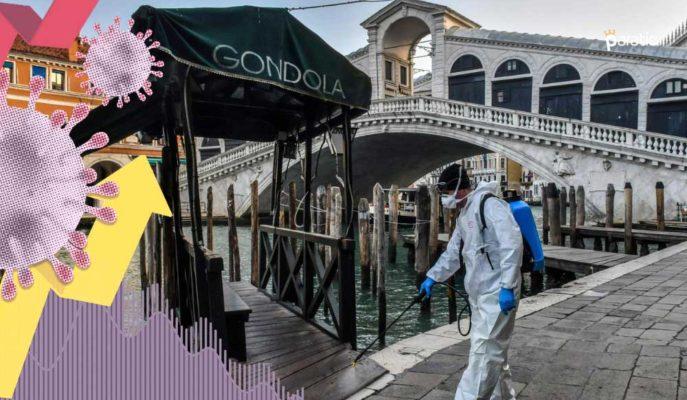 İtalya Ekonomisi 2021'in İlk Çeyreğinde Beklentilerden Az Küçüldü