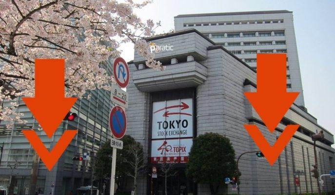 Japonya Borsa Endeksleri Yoğun Ekonomik Verinin Ardından Ekside