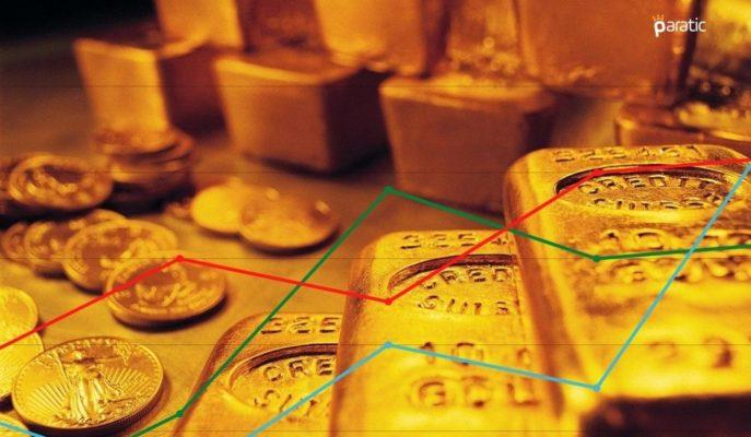 1769 Dolarda Seyreden Ons Altın Aylık Bazda %3,5 Yükseldi