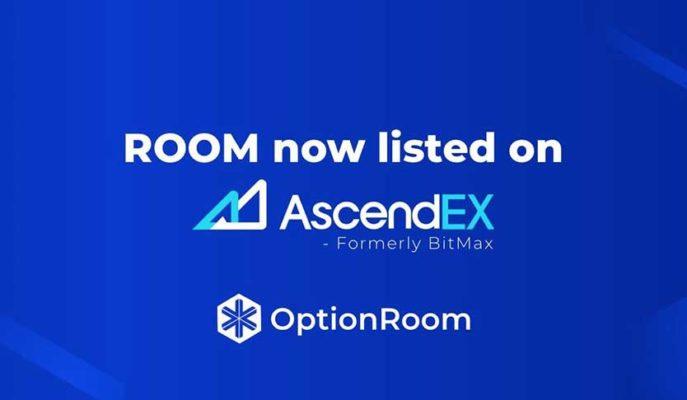 OptionRoom, Ascendex Borsasında Listeleniyor