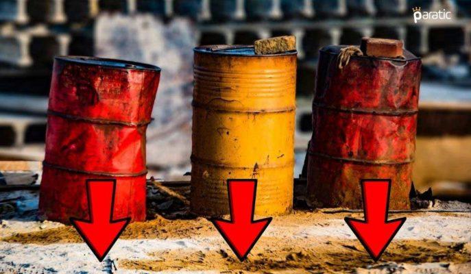 Petrol Fiyatları 3,5 Milyon Varil Azalan Stoklara Rağmen Düşüşte