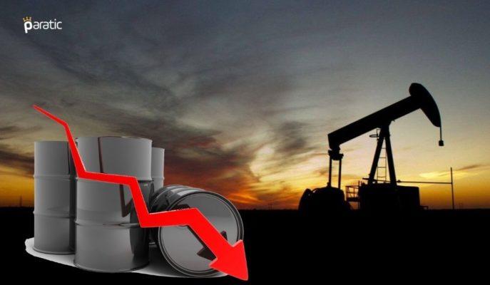 Petrol Haftalık %3'lük Kaybın Ardından Düşüşünü Sürdürüyor