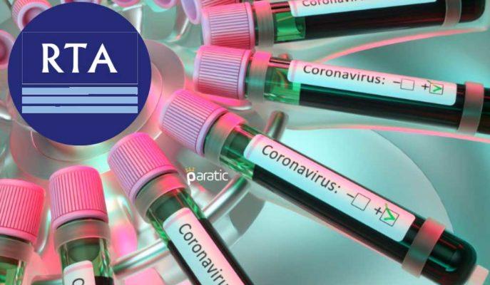 RTA 800 Bin Adet Covid-19 PCR Testi Siparişi Alırken Hisseleri Sert Düşüşte